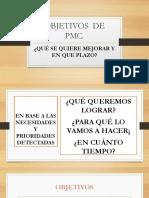 objetivos del PMC NUEVO MODELO EDUCATIVO