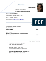 Curriculum Vitae María Del Carmen Figueroa