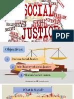 Social Justice (MS Presentation)