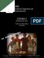 IAG - recetario cocina 2 (examen final)