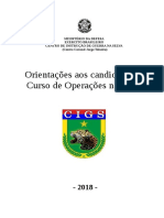 Manual Do Curso de Operações de Selva 2018