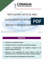 """SITUACIÓN ACTUAL DEL SANEAMIENTO EN MÉXICO"""" RETOS Y OPORTUNIDADES"""