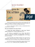 A Origem Do Teatro - Gustavo Costa