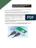 Conectores microusb