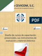 """EC0301 """"Diseño de cursos de capacitación presenciales, sus instrumentos de evaluación y material didáctico"""""""