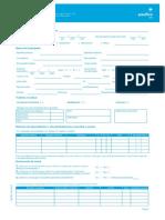 Formato solicitud de afiliacion Eps