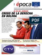 Edición Impresa 876 de La Época Del Domingo 14 Al Sábado 20 de Julio de 2019