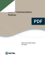 Mitel IP53XX Phone Userguide