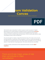 Program Validation Canvas by Kinan Kawuryan