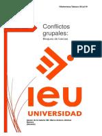 Conflictos Grupales Bloqueo de Fuerzas