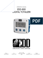 EDD800 Manual
