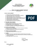 Accomplishment Report_casamongan Es