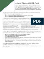 Remote Desktop Services in Windows 2008 R2PART1
