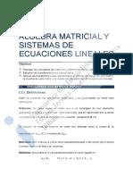 Algebra con matrices