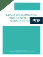 Informe Control Documental Unidad Tres