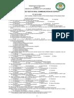 Divison Unified Exam Oralcomm 1920