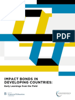 IMPACT BONDS IN DEVELOPING COUNTRIES