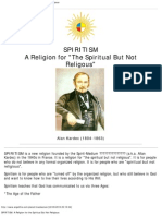 Spirit Ism_ a Religion for the Spiritual but Not Religious