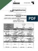 7451-P-OP-020 Construccion y Pruebas Red de Agua Potable e Incendio R1