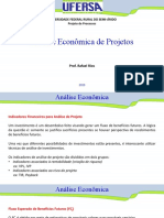 Aula - Análise Econômica