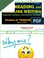 Copyreading Tanauan Caravan - Copy