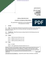 Mil-dtl-83488d. Recubrimientos en Metales