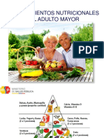 Nutricion en El Adulto Mayor
