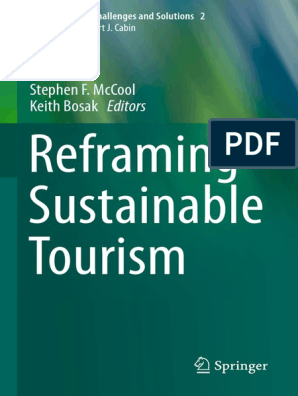 Reframing Sustainable Tourism Sustainability Tourism