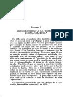 1. Racker, Heinrich Estudios sobre tecnica psicoanalitica