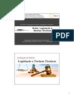 AUT0278 Aula 10 - Ruído, Legislação e Normas Técnicas - 2017.pdf