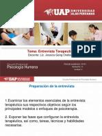 Entrevista terapeutica 4