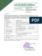 Surat Permohonan Kegiatan KI TSM New