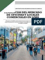 Tendencias Del Mercado de Oficinas y Locales Comerciales en Lima