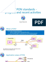 ITU T PON Standards Updates