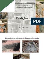 10 Fundações Profundas Dimensionamento Estrutural de Blocos