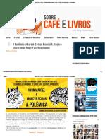 ' Sobre Café e Livros_ A Polêmica Martel-Scliar, Round 3_ Onde o circo pega fogo + Curiosidades