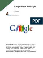 Cómo descargar libros de Google Books.doc
