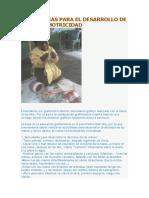 Estrategias Para El Desarrollo de La Grafomotricidad