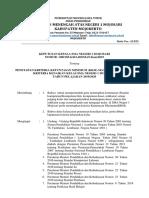 Sk Penetapan Kkm Dan Kenaikan Kelas 2019-2020