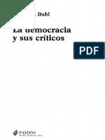 Dahl Robert - La Democracia Y Sus Criticos.pdf