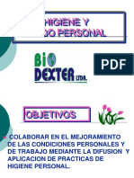 Presentacion Capacitacion - Higiene Personal e Industrial