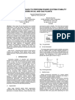 Standard Approach to Perform Power System Stability Studies in Oil and Gas Plants