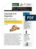 L'Ayurveda Et Le Gingembre – Aphrodisiaque Et Stimulant Sexuel «Satisfait Ou Remboursé»