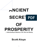 Ancient Secret Corrected