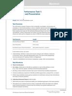 ap seminar performance task directions