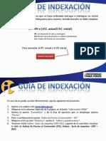 Guia Indexacion