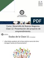 CLASE 12 DESARROLLO DE NUEVOS NEGOCIOS