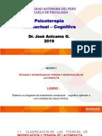 2019  UA SESION 7 Diseño de Programas de Tratamiento Cond. Cog..pptx