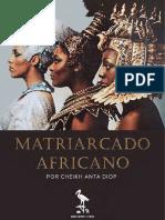 Matriarcado africano por Cheik Anta Diop