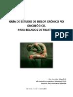 Guía de Dolor Crónico No Oncológico